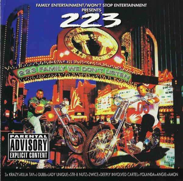 223 Family - We Don't Listen (Front)