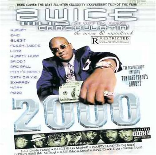 2wice - Wuz Crackulatin' 2000 (Front)