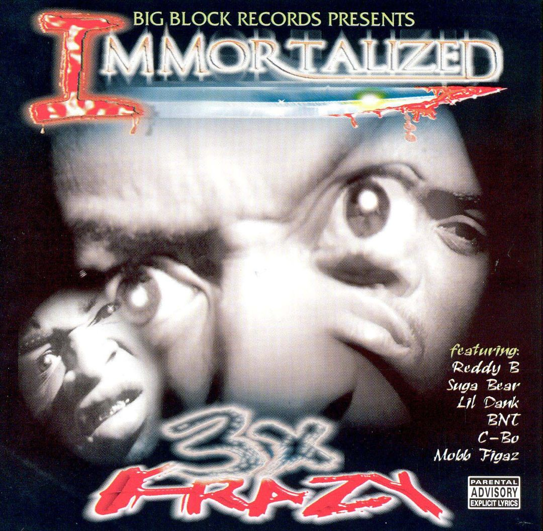 3X Krazy - Immortalized (Front)