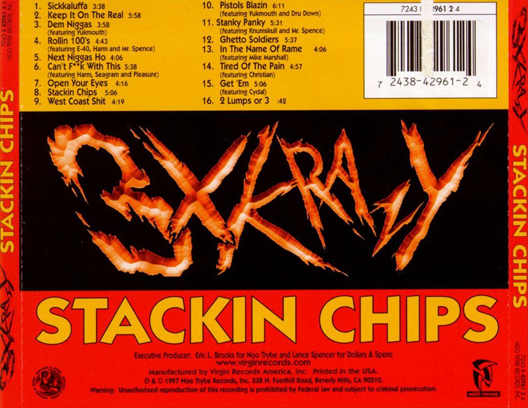 3X Krazy - Stackin Chips (Back)