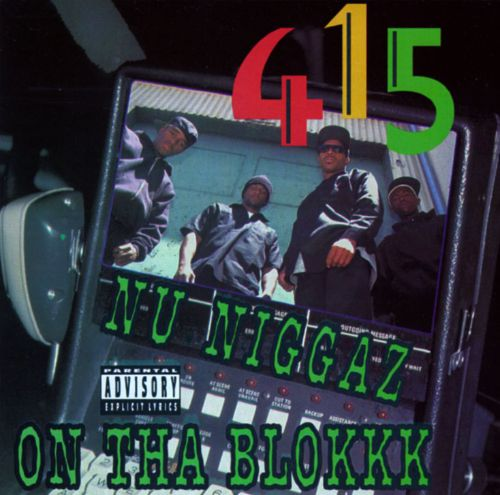 415 - Nu Niggaz On Tha Blokkk (Front)