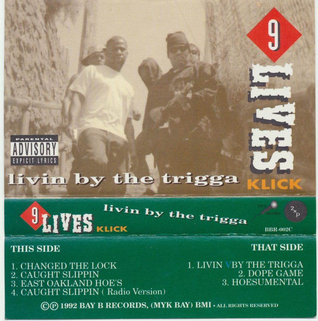 9 Lives Click - Livin By The Trigga (Outlay)