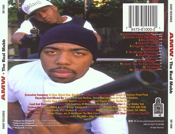A.M.W. - The Real Mobb (Back)