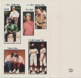 A.P.G. Crew - On The Rise (Inlay)