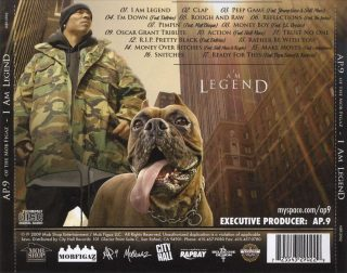 AP.9 Of The Mob Figaz - I Am Legend (Back)