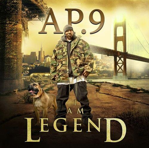 AP.9 Of The Mob Figaz - I Am Legend (Front)