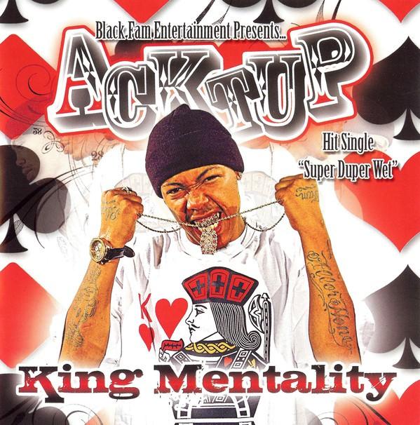 Acktup - King Mentality (Front)
