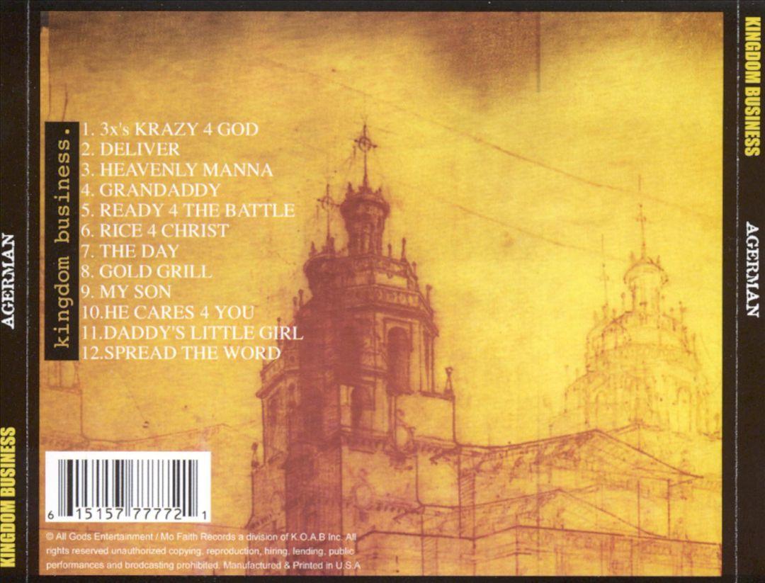 Agerman - Kingdom Business (Back)
