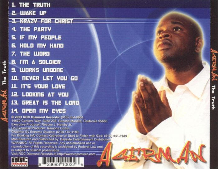 Agerman - The Truth (Back)