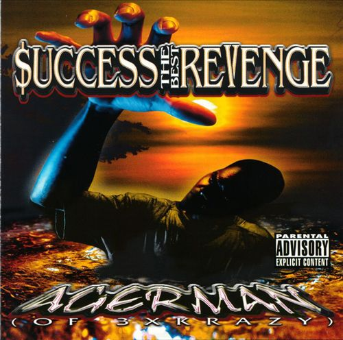 Agerman - $uccess The Best Revenge (Front)