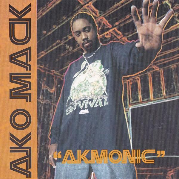 Ako Mack - Akmonic (Front)
