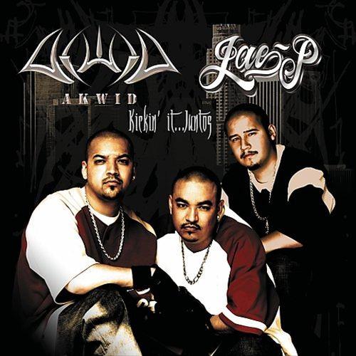 Akwid & Jae P - Kickin' It... Juntos (Front)