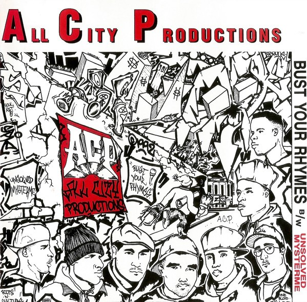 All City Productions - Bust Your Rhymes Unsolved Mysterme (Front)