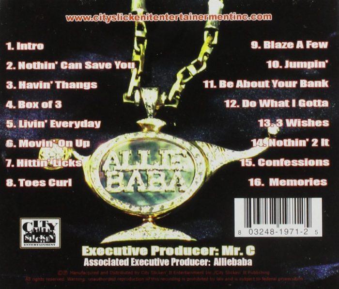 Alliebaba - 3 Wishes (Back)