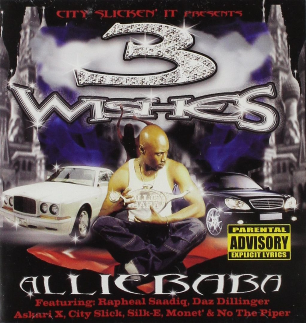 Alliebaba - 3 Wishes (Front)