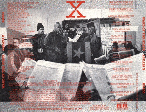 Askari X - Ward Of The State (Back)