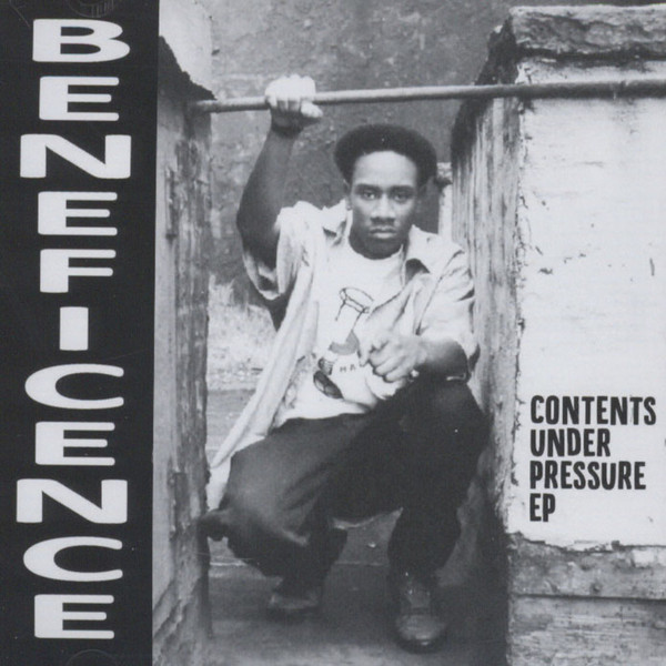 Beneficence - Contents Under Pressure EP (Front)