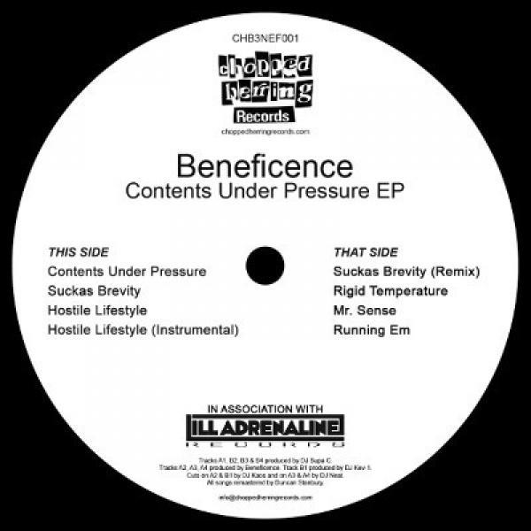Beneficence - Contents Under Pressure EP (Inlay)