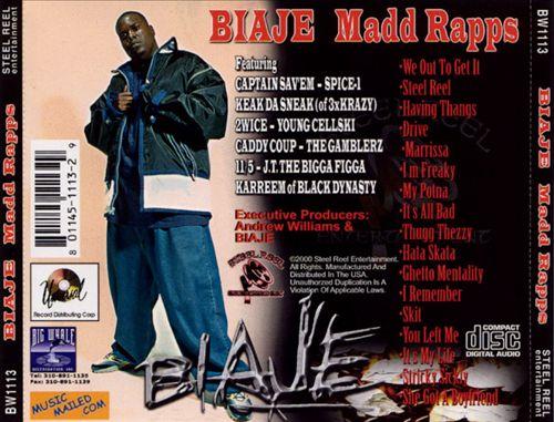 Biaje - Madd Rapps (Back)