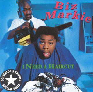 Biz Markie - I Need A Haircut (Front)