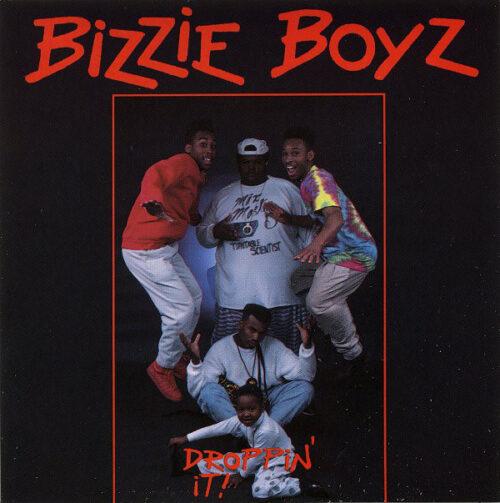 Bizzie Boyz - Droppin' It (Front)