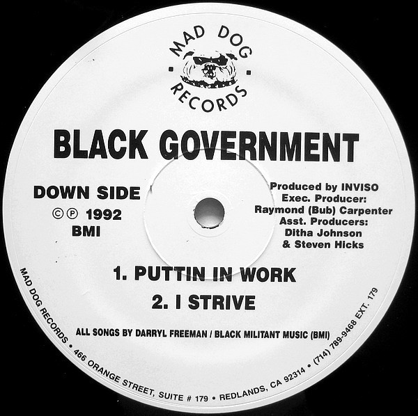 Black Government Just Kickin Conversation Side B