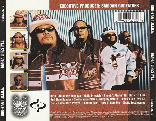 Boo-Yaa T.R.I.B.E. - Mafia Lifestyle (Back)