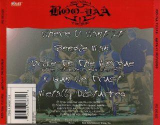 Boo Yaa T.R.I.B.E. Metally Disturbed Back