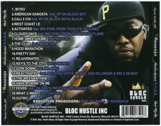 Bossolo - Notorious B.O.S.S. The Birth (Back)