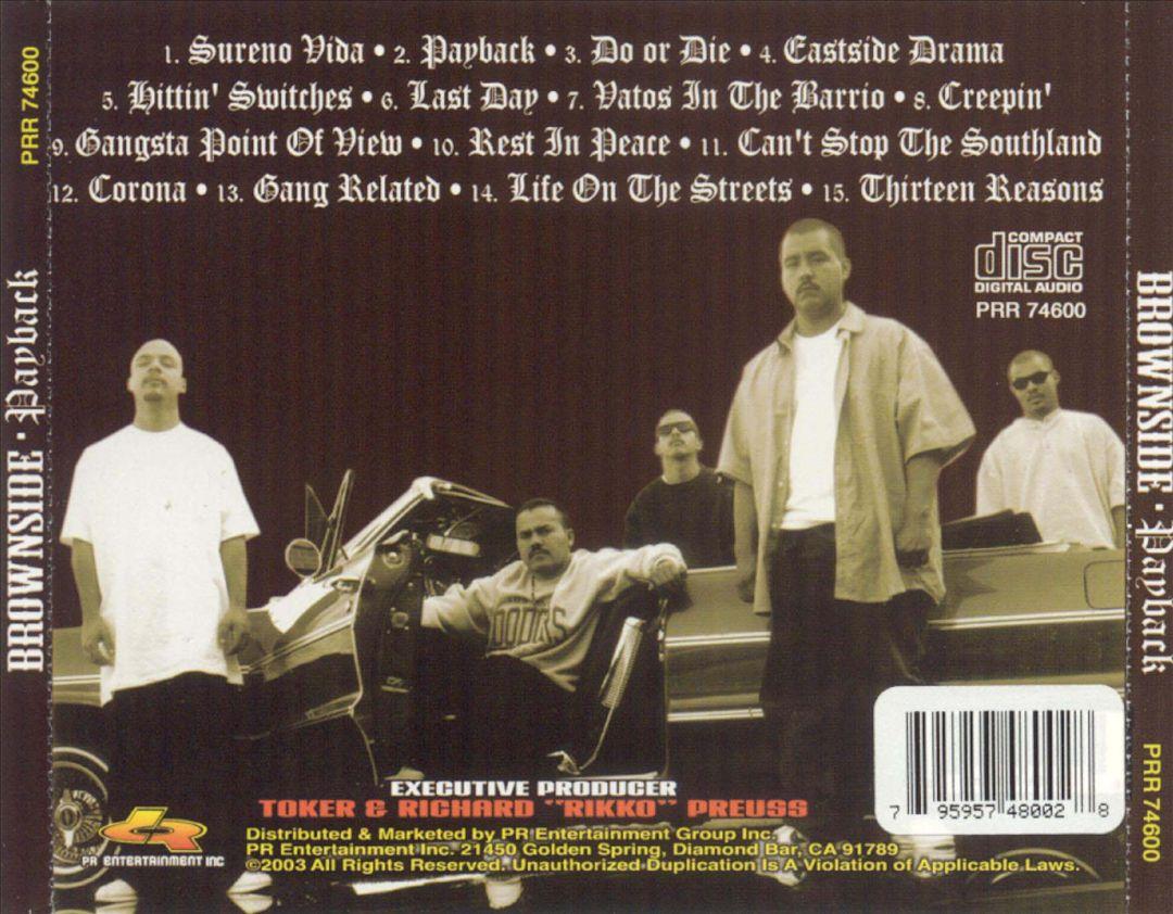 Brownside - Payback (Back)