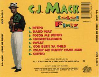 C.J. Mack - Color Me Funky E.P. (Back)