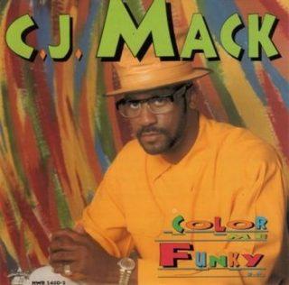 C.J. Mack - Color Me Funky E.P. (Front)
