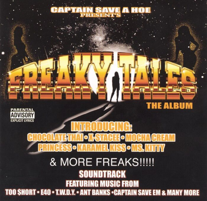 Captain Save 'Em - Freaky Tales (Front)