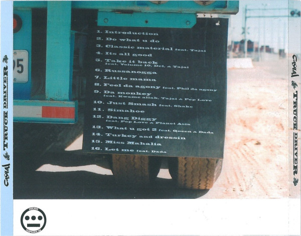 Casual - Truck Driver (Back)