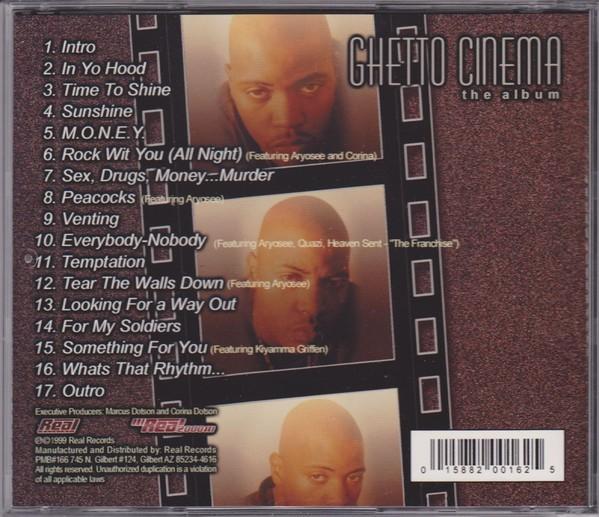 Cinque - Ghetto Cinema (Back)