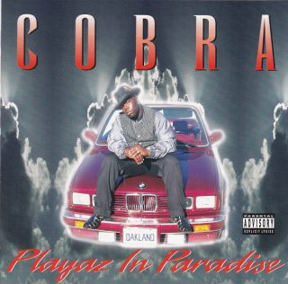 Cobra - Playaz In Paradise (Front)