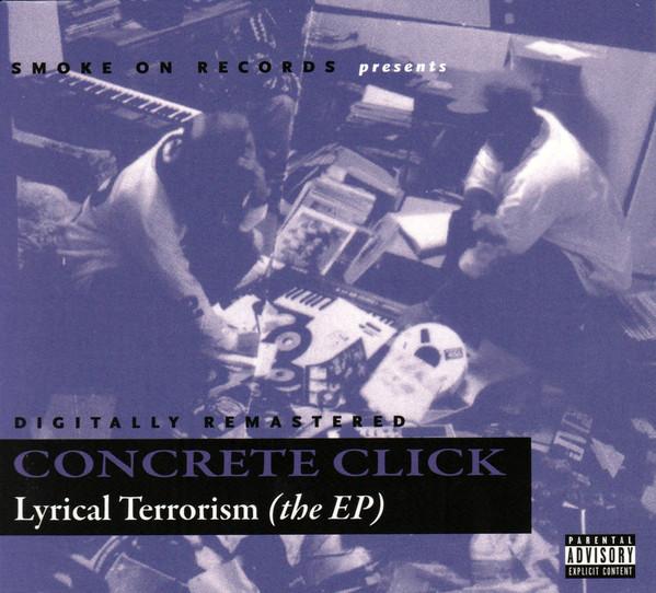 Concrete Click - Lyrical Terrorism (The EP) [Front]