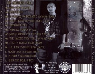 Conejo - The Bootlegs Vol. 1 (Back)
