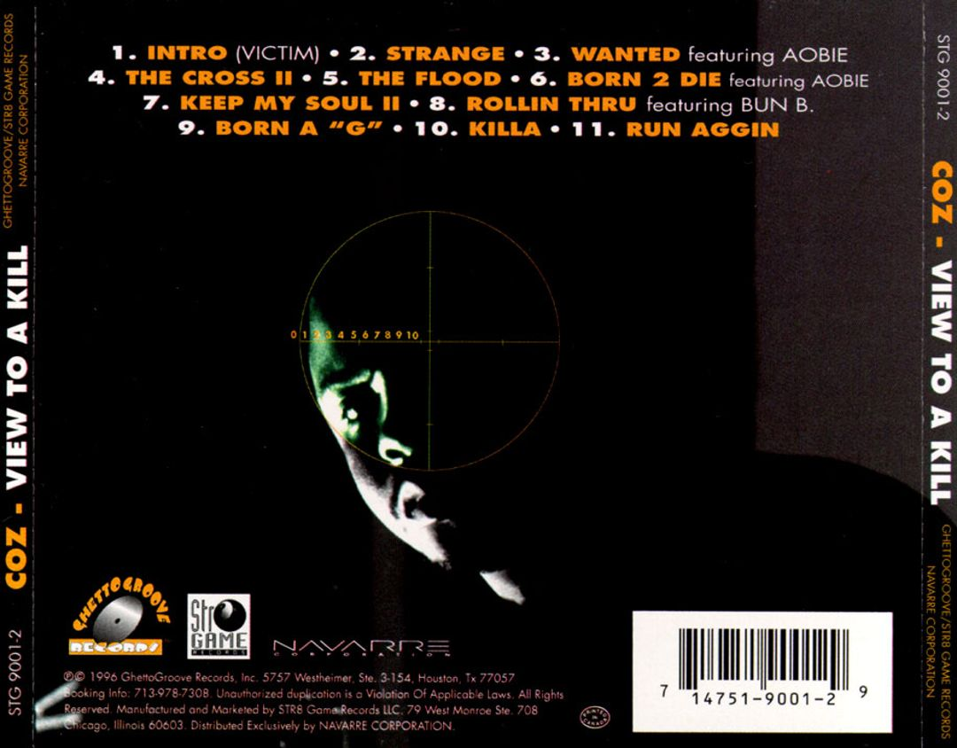 Coz - View To A Kill (Back)