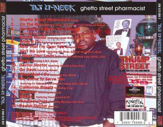 D.J. U-Neek - Ghetto Street Pharmacist (Back)