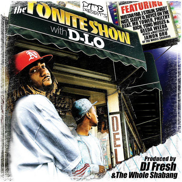 DJ Fresh & D-Lo - The Tonite Show With D-Lo (Front)
