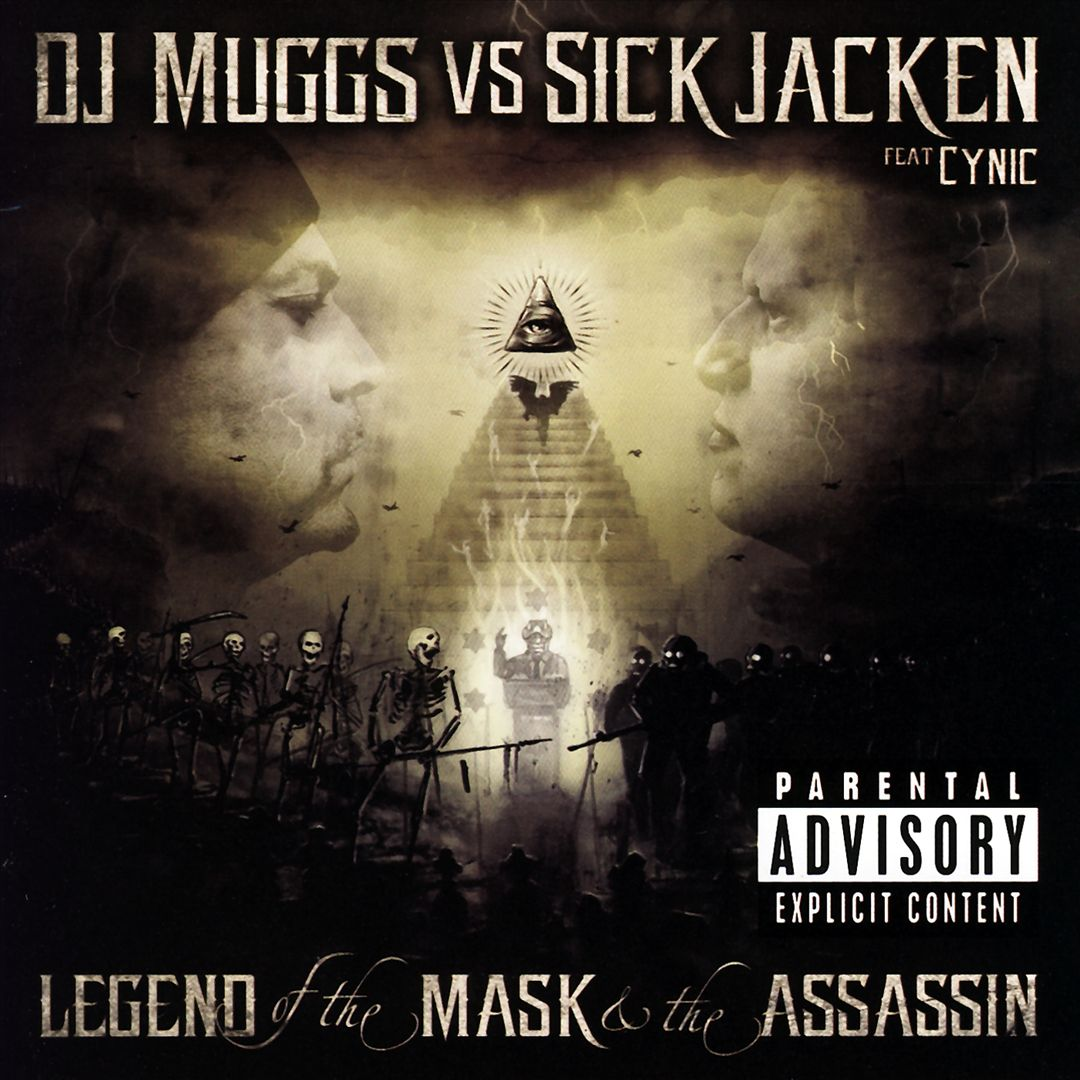 DJ Muggs Vs Sick Jacken Feat Cynic - Legend Of The Mask And The Assassin (Front)