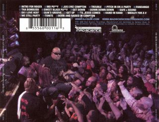 DJ Quik Greatest Hits Live At The House Of Blues Back