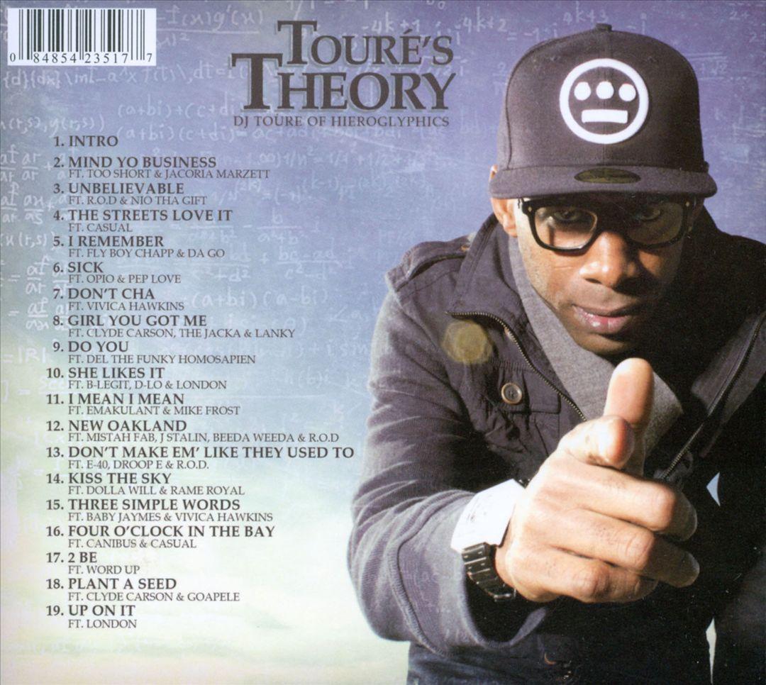 DJ Touré Of Hieroglyphics - Touré's Theory (Back)