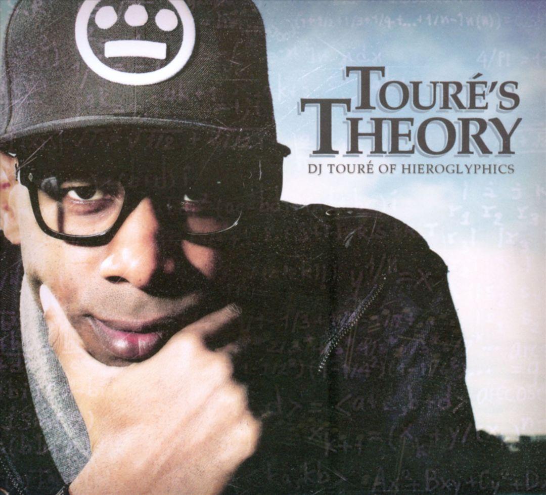 DJ Touré Of Hieroglyphics - Touré's Theory (Front)