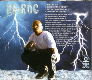 Da-Roc - You Ain't No Gangsta (Back)