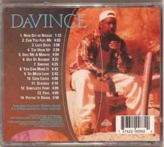 DaVince - Give Me A Minute (Back)