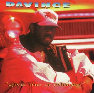 DaVince - Give Me A Minute (Front)