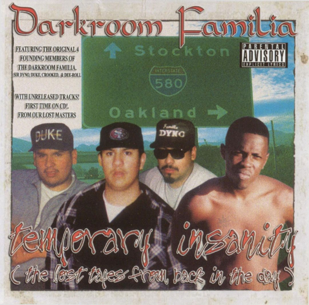 Darkroom Familia Temporary Insanity Lost Tapes From Back In Day Front