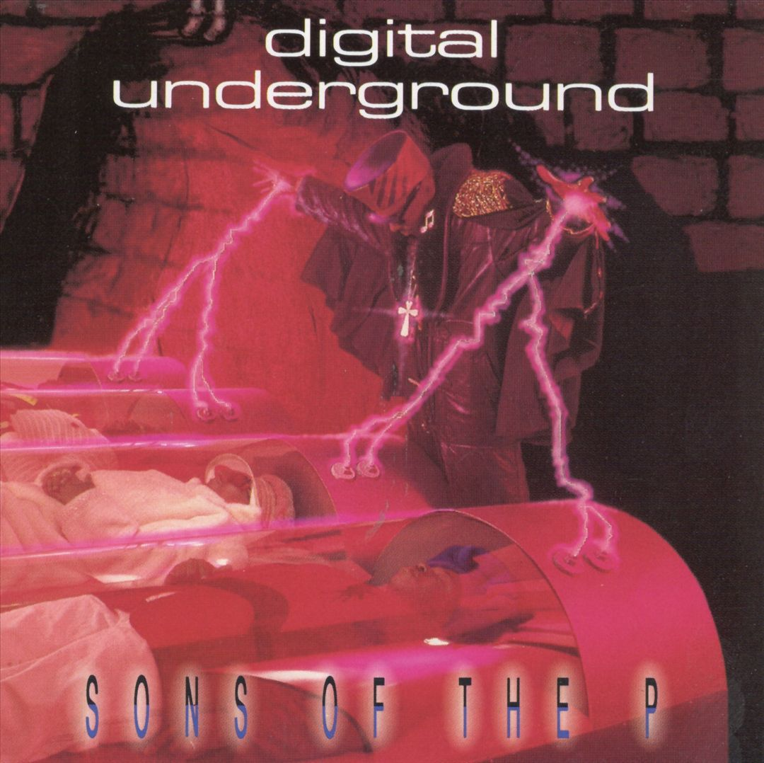 Digital Underground - Sons Of The P (Front)